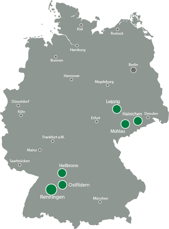 Locationmap Gustav Barth GmbH